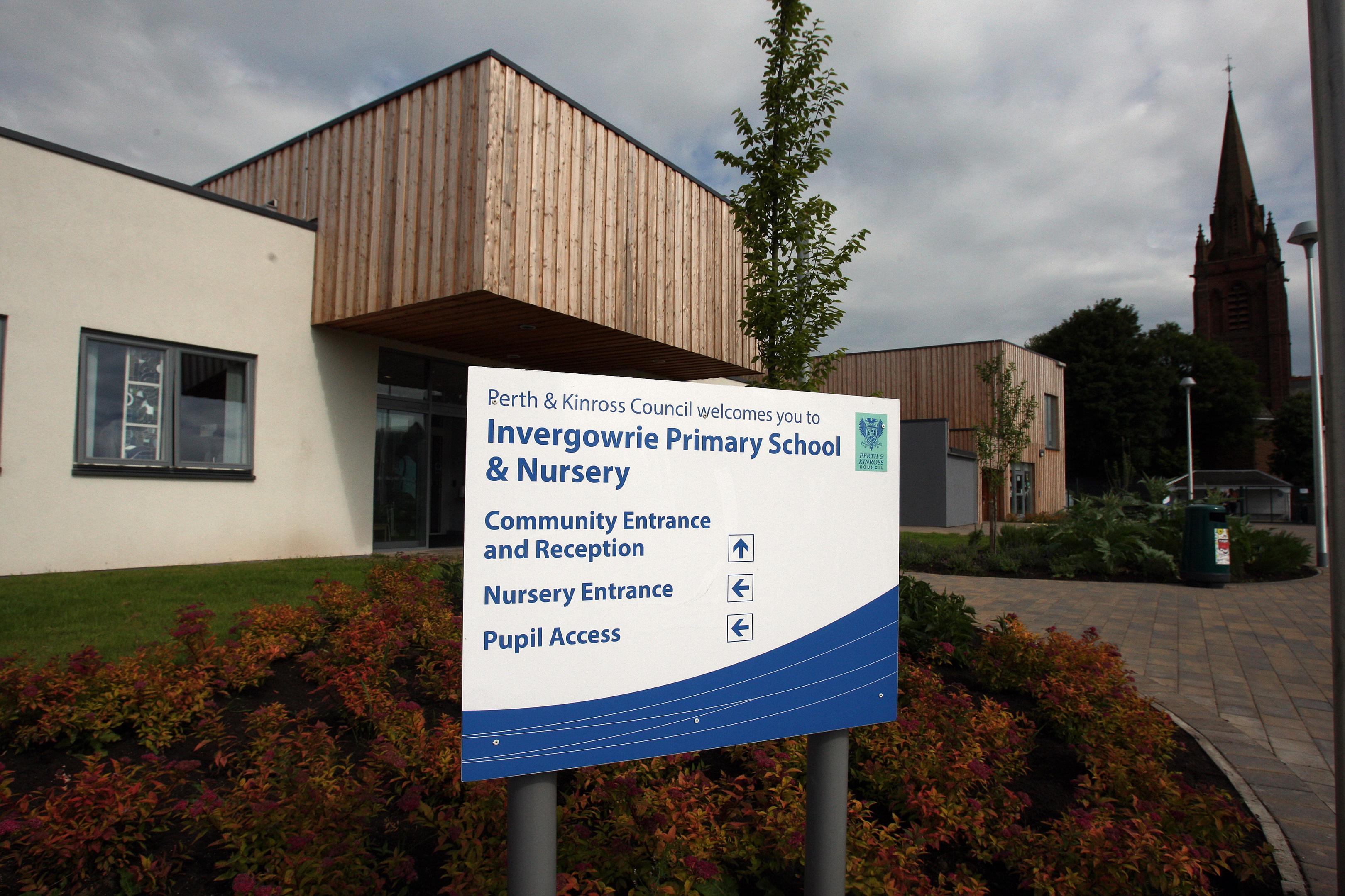 Invergowrie Primary School.