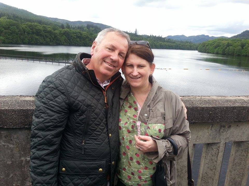 Wendy and Neil Spink.