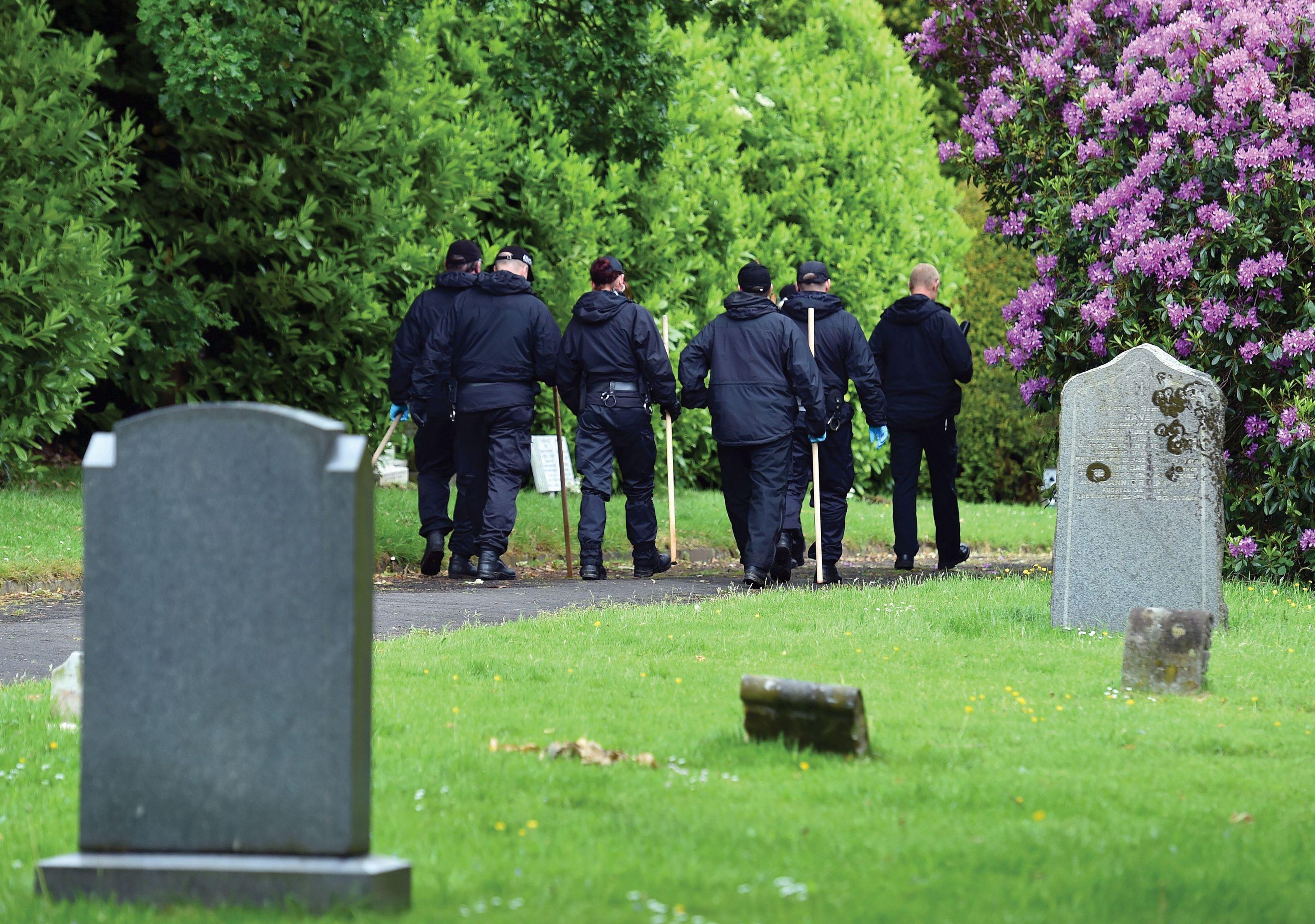 Jordan Watson was found dead in a cemetery in Carlisle.