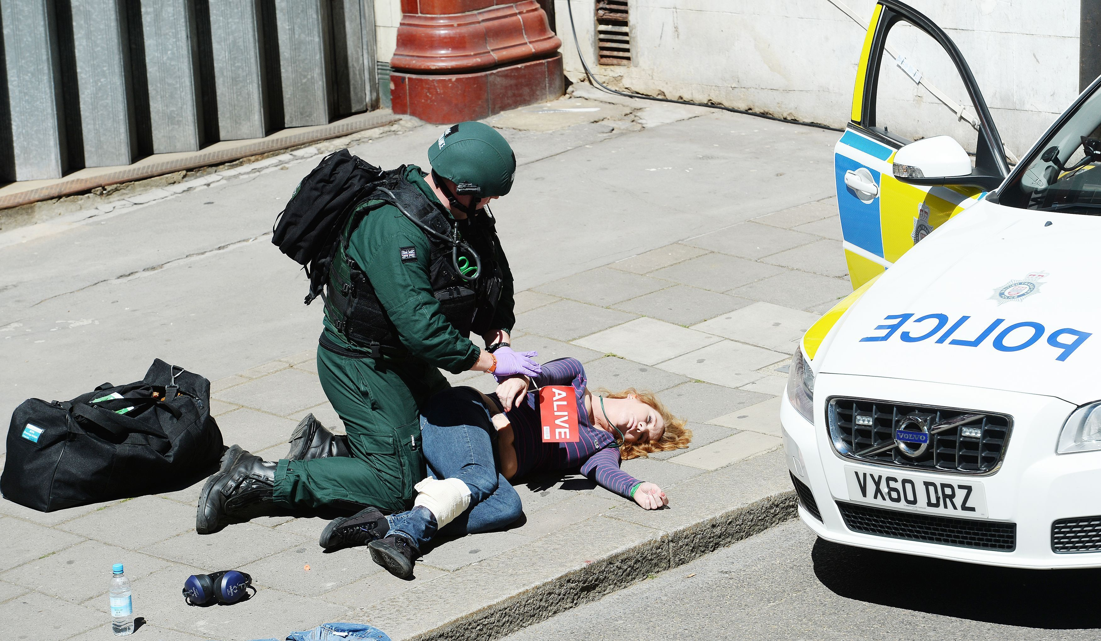 A major counter-terrorism exercise in London