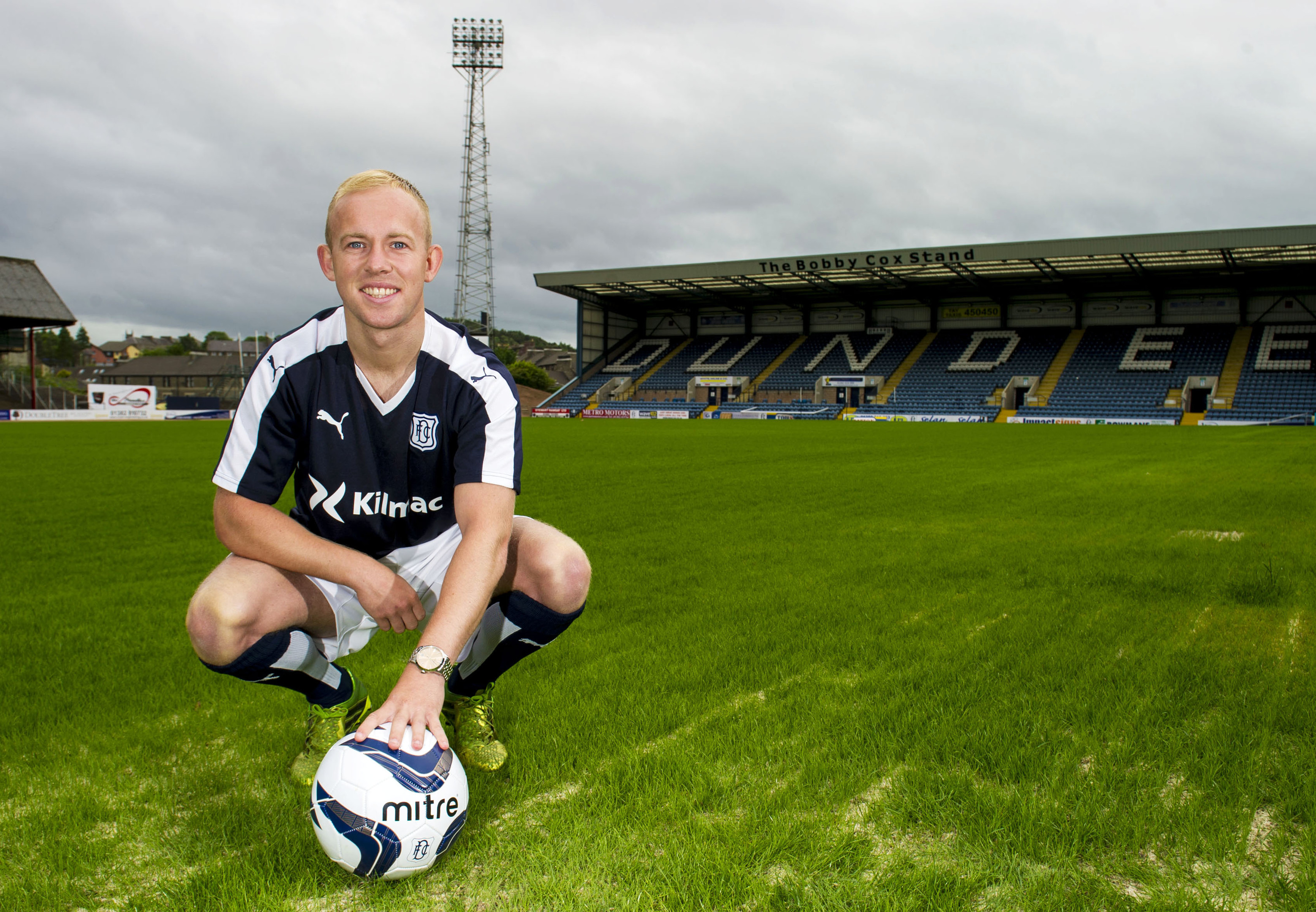 Dundee's new signing, Nicky Low.