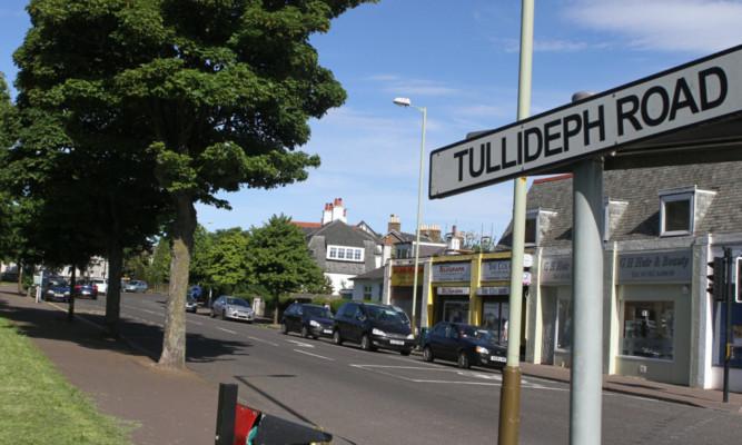 Tullideph Road (Stock image).