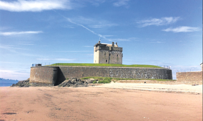 A sunny Broughty Ferry (library picture)
