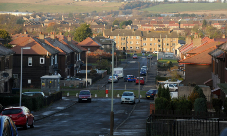 Linlathen has been named Scotland's 9th most deprived area - up from 76th four years ago.