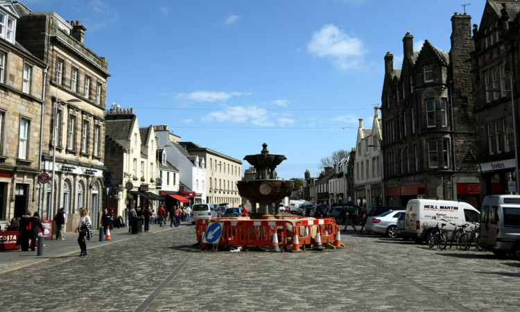 Market Street in St Andrews