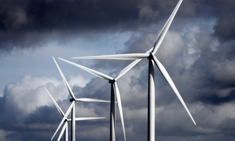Excess energy from wind turbines could be stored in the facility.
