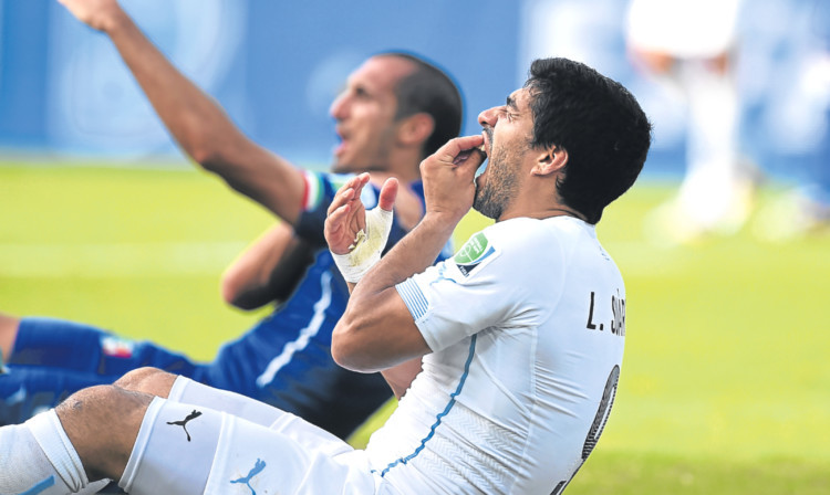 Uruguay's Luis Suarez is one to watch in Russia for more than just goals.