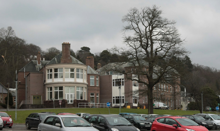 Royal Victoria Hospital in Dundee (stock image)