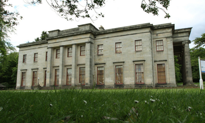 The historic Camperdown House is up for sale.