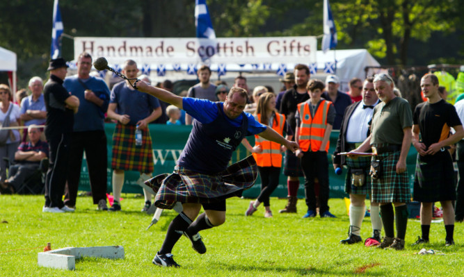 St Andrews Highland Games has been cancelled this year