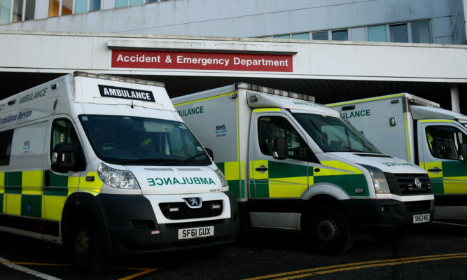 The Accident and Emergency Department at Ninewells Hospital