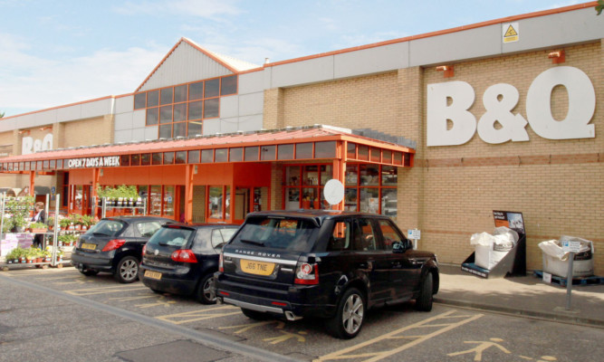 Dundee B&Q, which is now closed