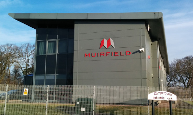 The Muirfield head office at the Camperdown Industrial Park.