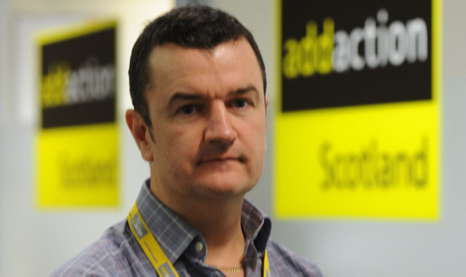 Dave Barrie of drug charity Addaction