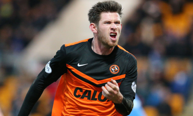Calum Butcher in his first spell at Tannadice