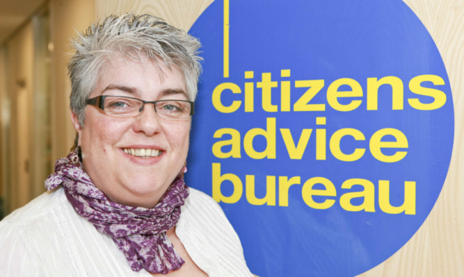 Mary Kinninmonth, director of Dundee Citizens Advice Bureau