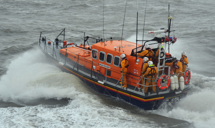 The Arbroath lifeboat