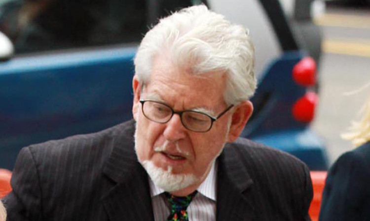 Rolf Harris was jailed in 2014.