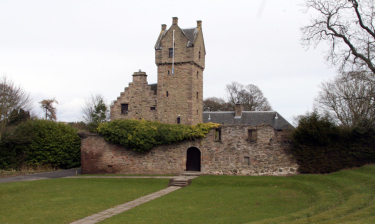 Mains Castle (stock image)