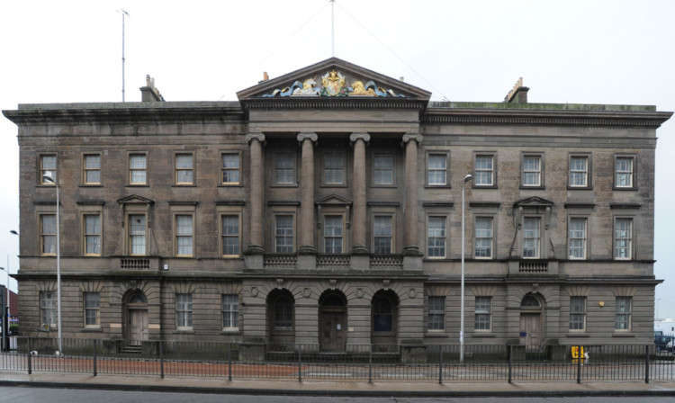 Customs House in Dundee