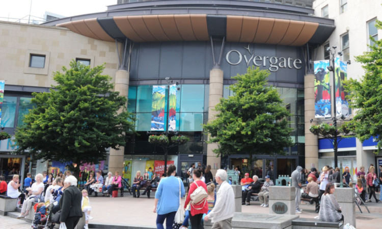 £162 of perfume was stolen from Debenhams in the Overgate