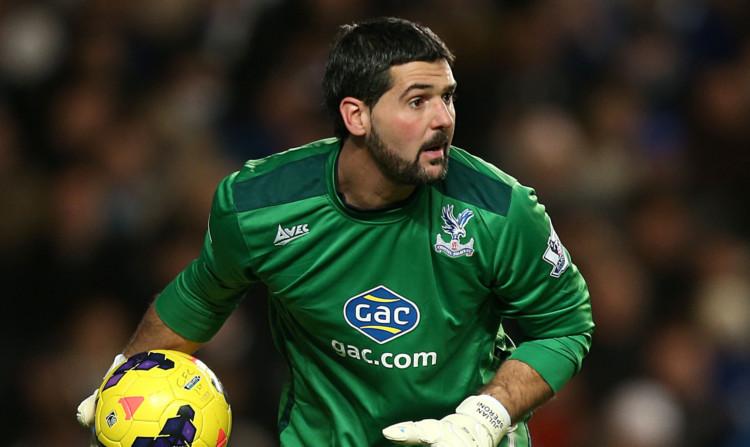 Crystal Palace shot-stopper Julian Speroni.