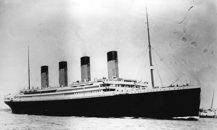 The largest remaining fragment of the Titanic is on loan from the Maritime Museum of the Atlantic in Halifax, Nova Scotia