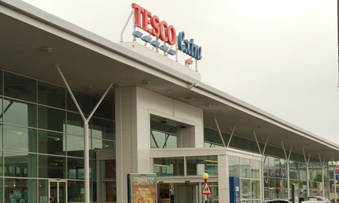 Tesco Extra in Kingsway West (stock image)