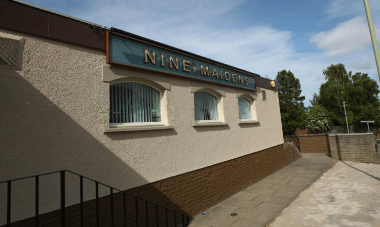 The Nine Maidens pub in Laird Street. (Stock image).