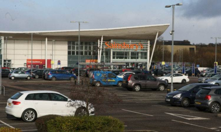 The Sainsbury's on Tom Johnston Road in Dundee