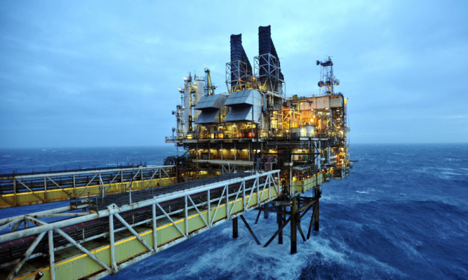 A BP oil rig