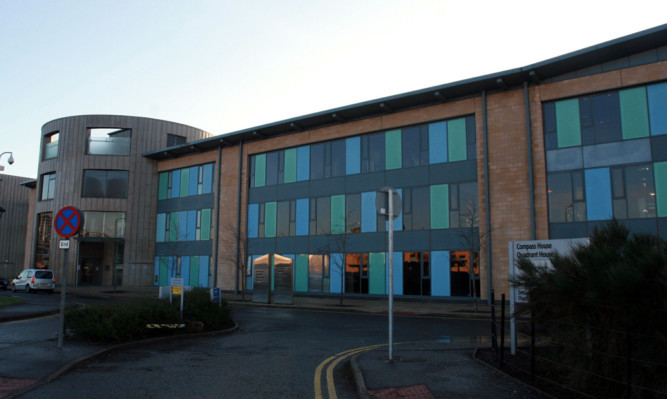 SSSC headquarters in Compass House, Dundee