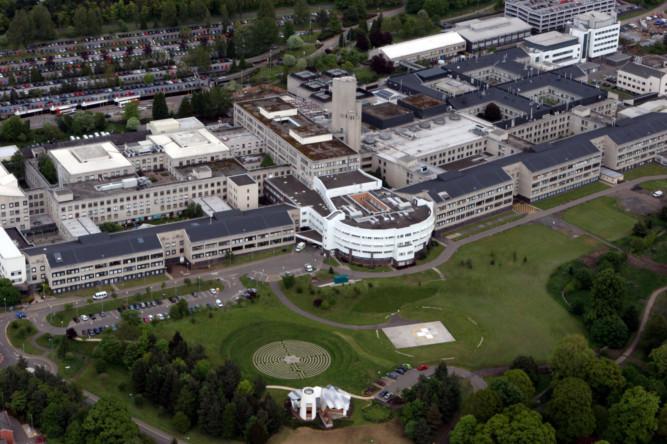 Dundee's Ninewells Hospital.