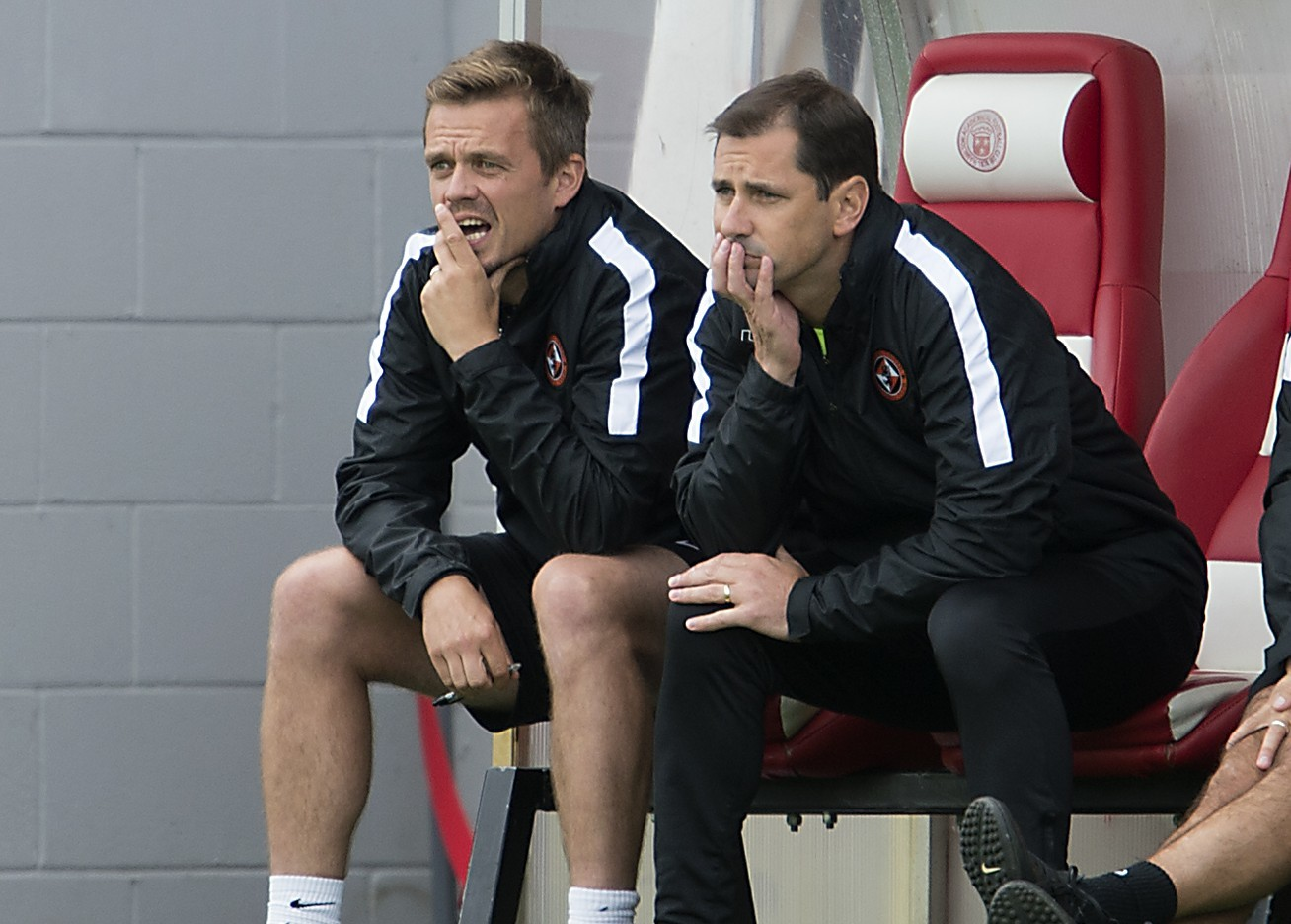 Dundee United boss Jackie McNamara hasn't had too much to cheer about this season. He'll need his strike force to start banging in the goals.