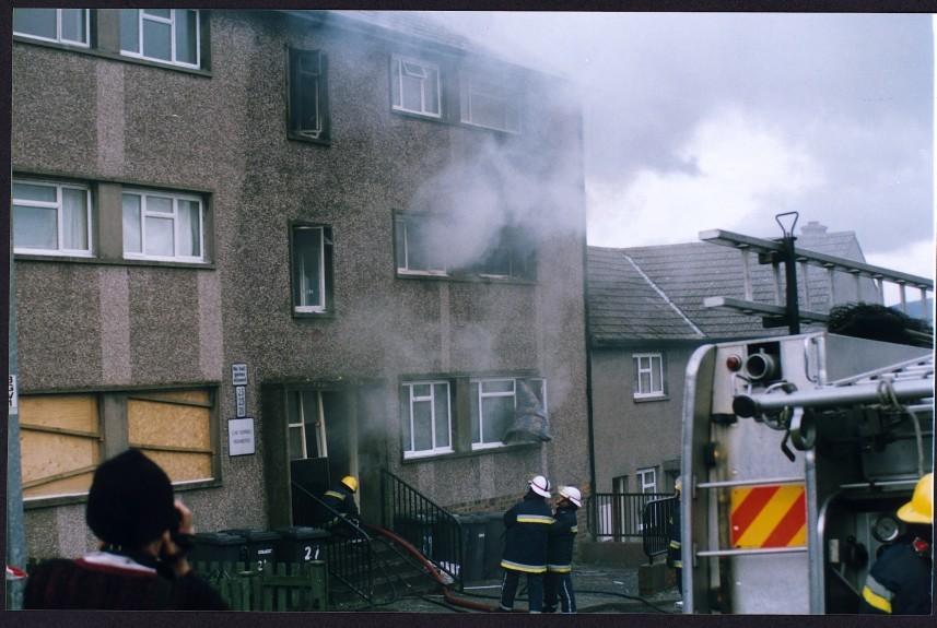 The gas blast in Forfar in 2000
