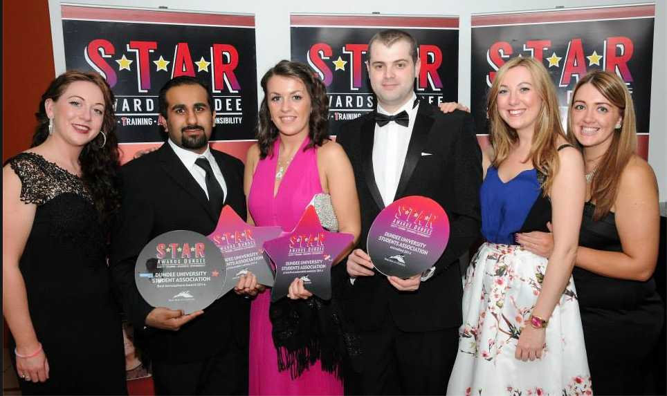 Some of last year's S.T.A.R Award winners. The voting has now opened for members of the public to decide which pubs and clubs should win in 2015.