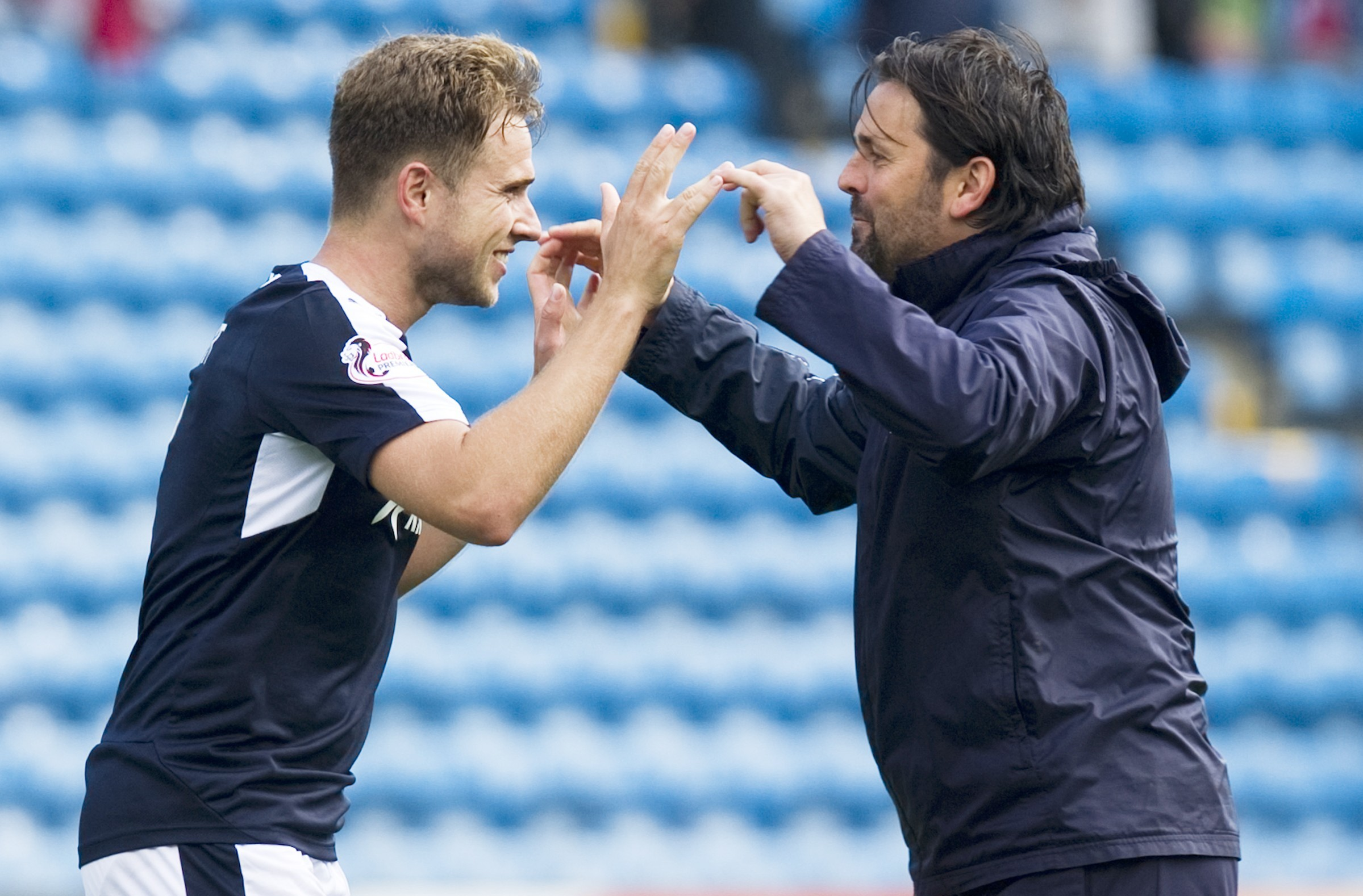 Striker Greg Stewart is a prized asset for Dundee.
