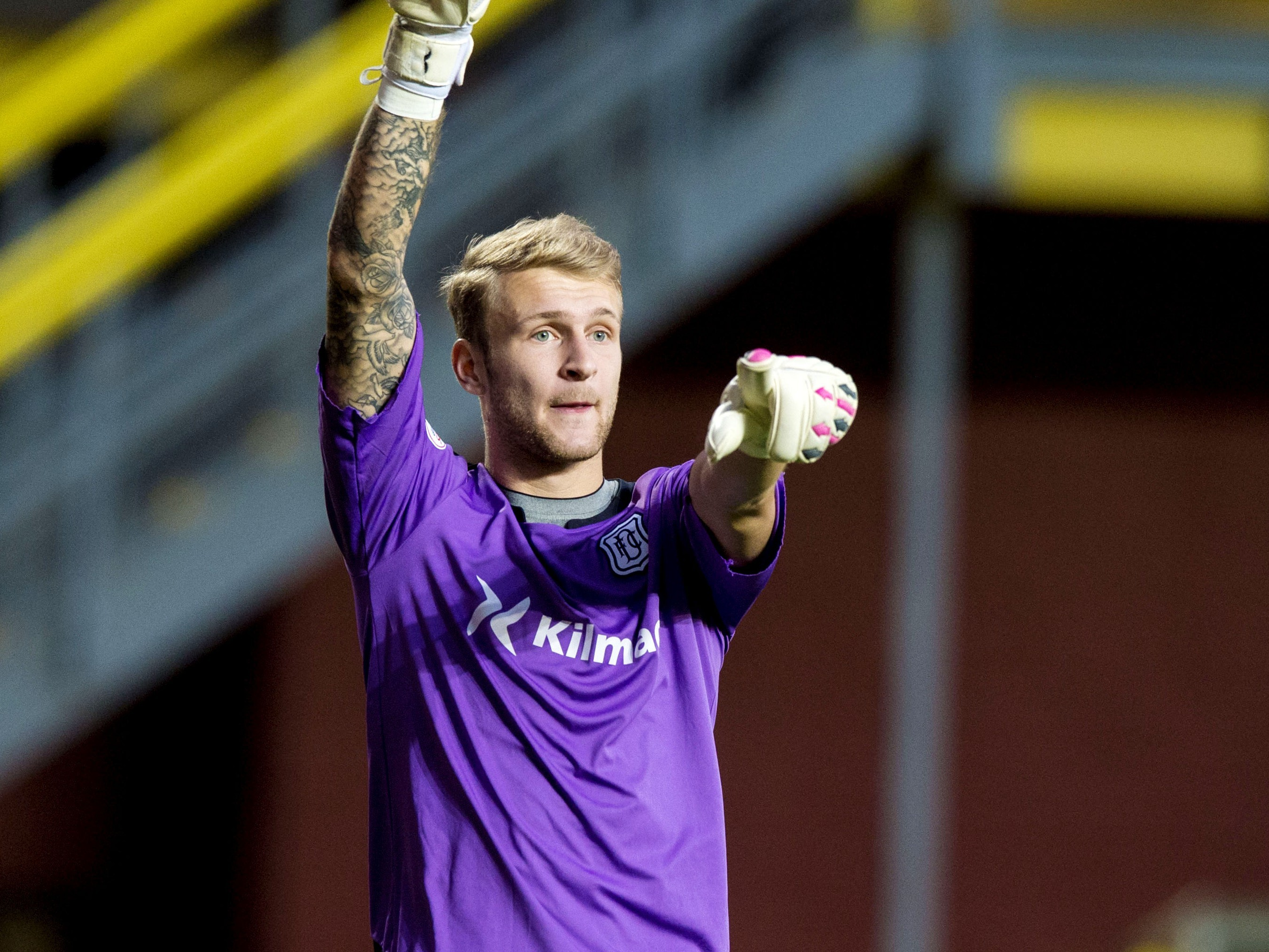 Dundee keeper Scott Bain should be OK for tonight's game.