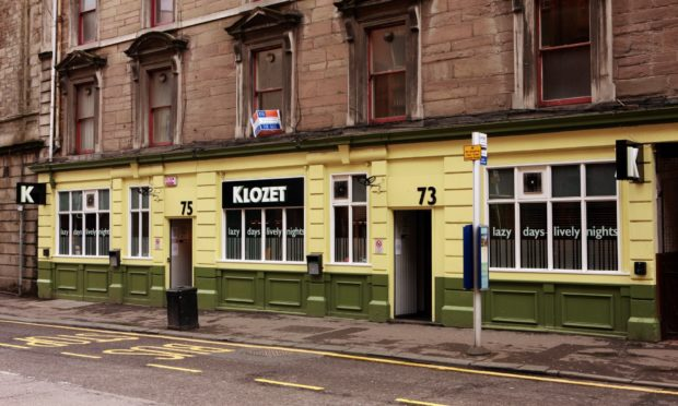 The pub, when it was previously known as Klozet.