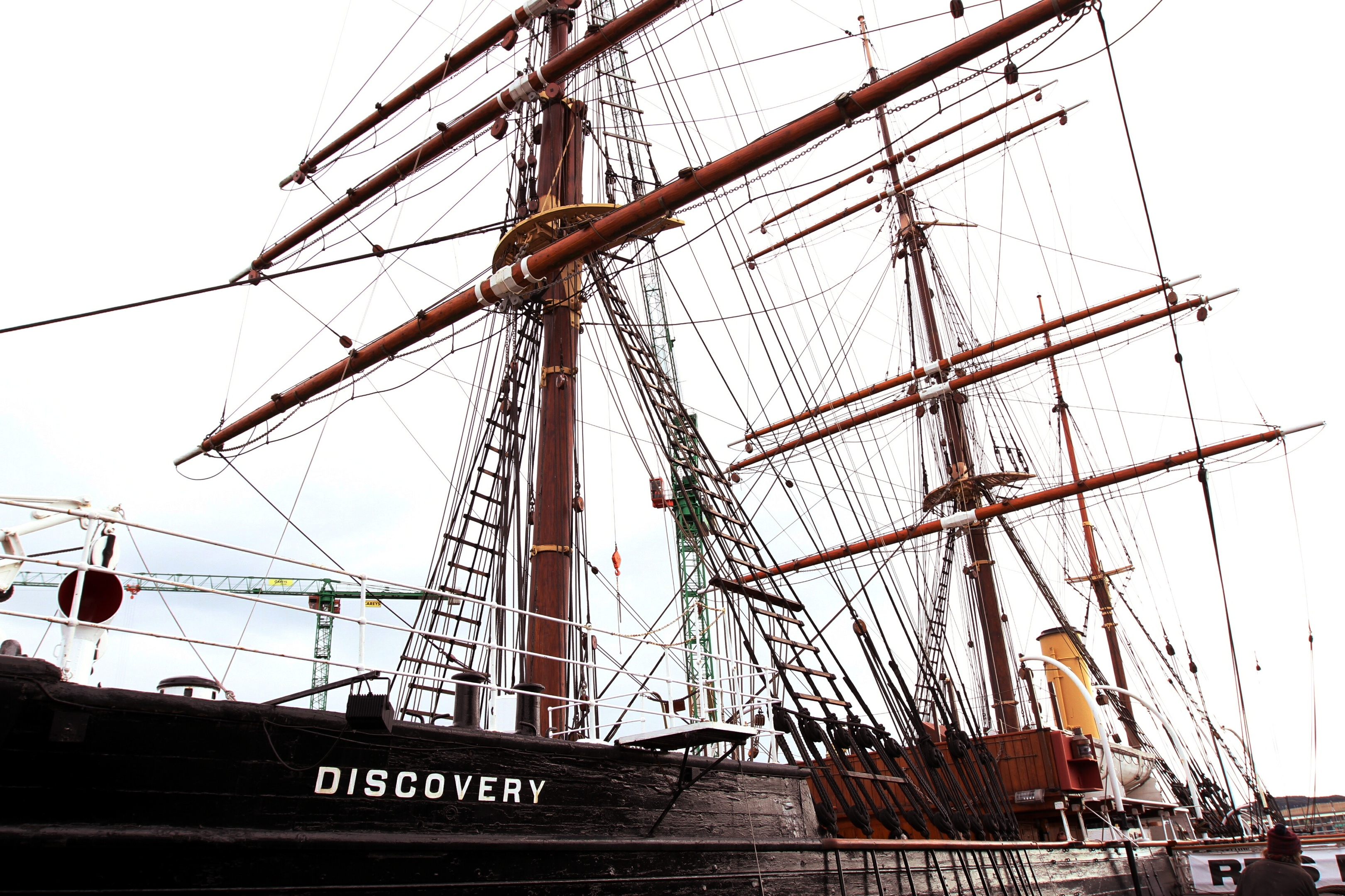 The RRS Discovery as it is today