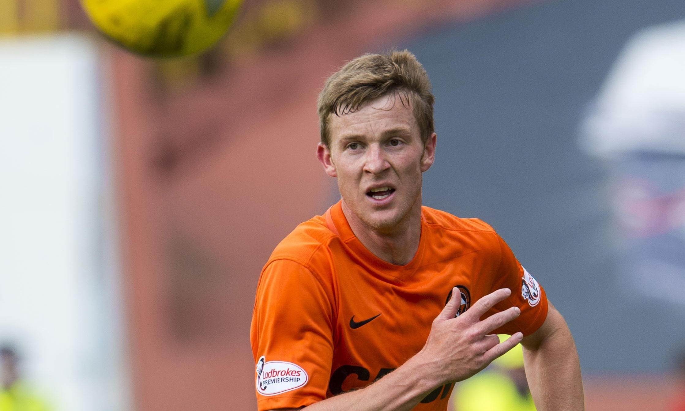 Dundee United full-back Paul Dixon.