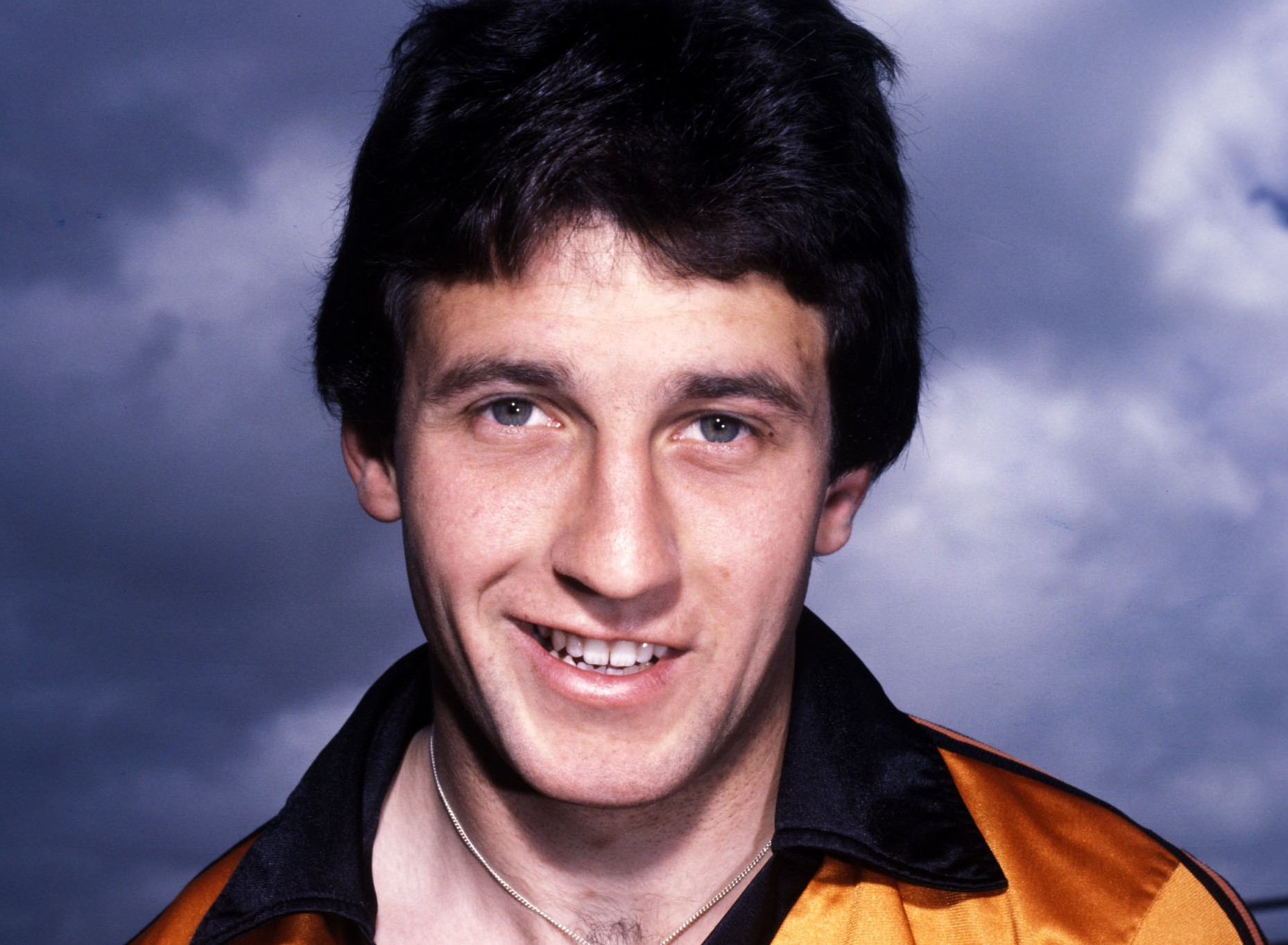 Ralph Milne, pictured in his Dundee United kit during the 1980/81 season.