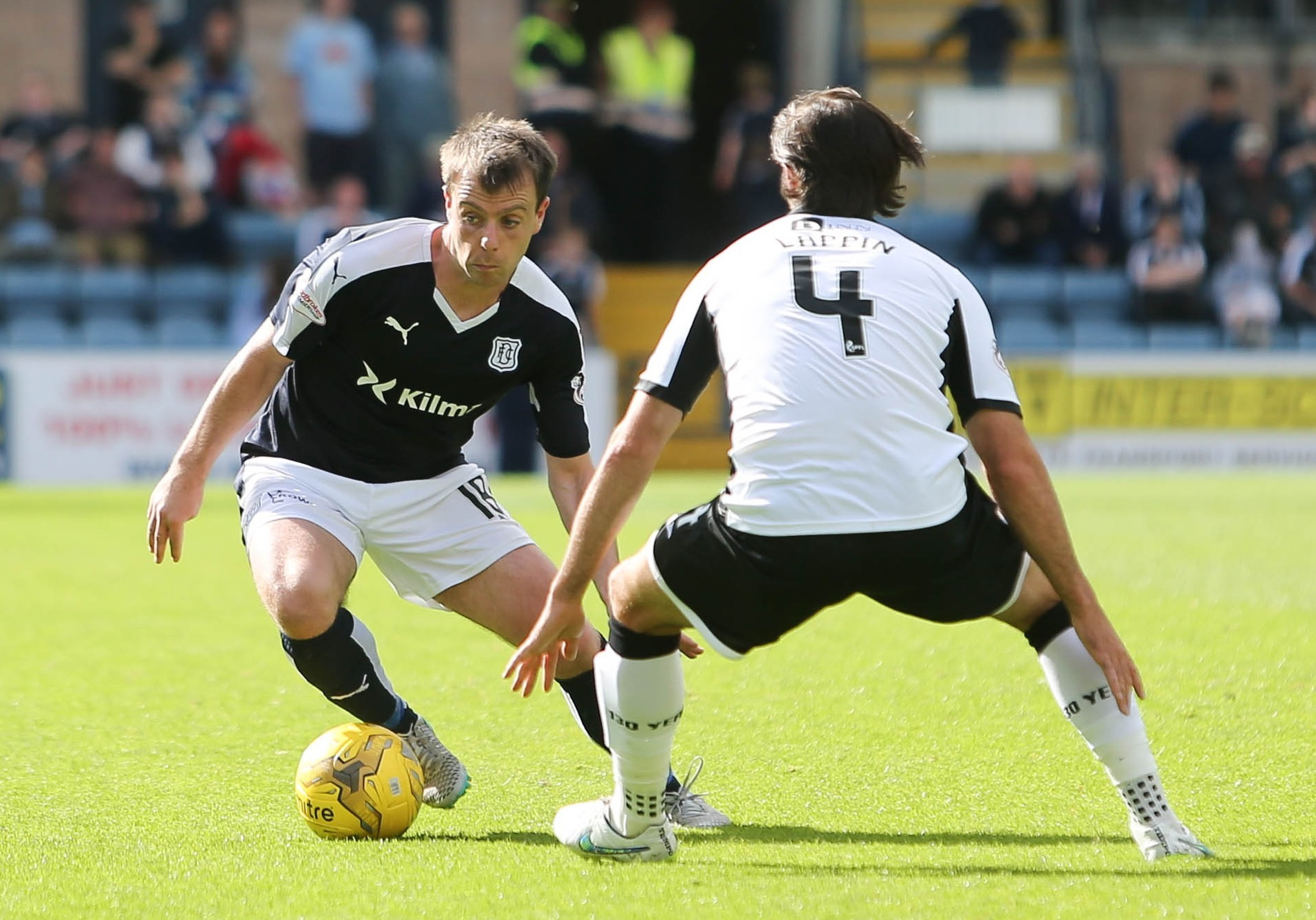 Dundee are hopeful Paul McGowan will be fit for Saturday.