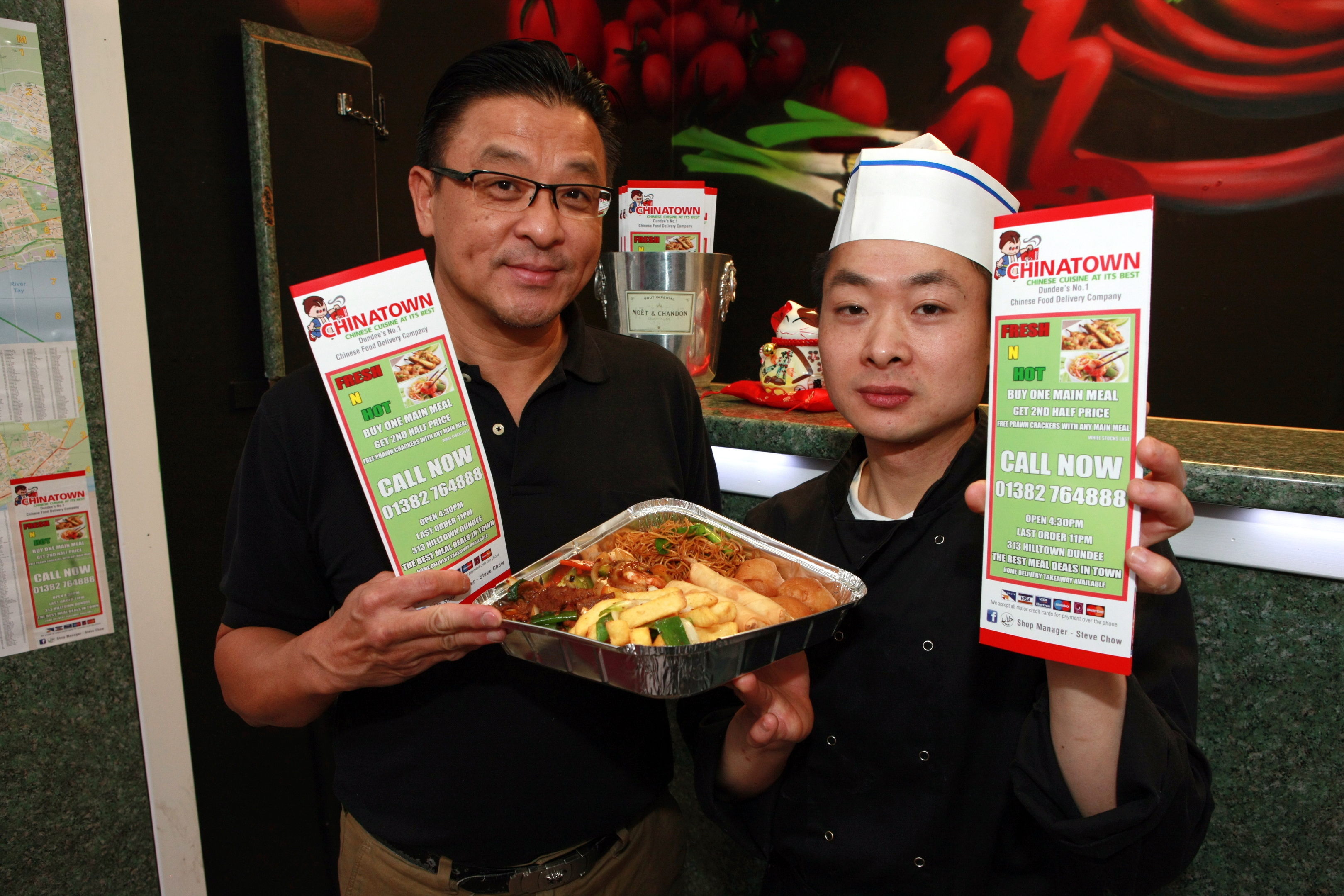 Chinatown owner Steve Chow and chef Ha Rong