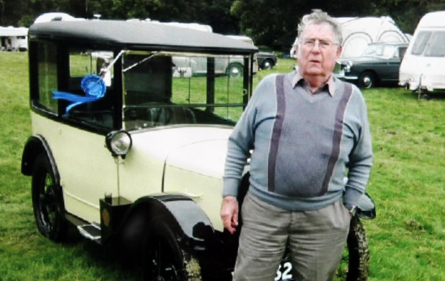 William Sutherland (77) died after falling from a ladder.