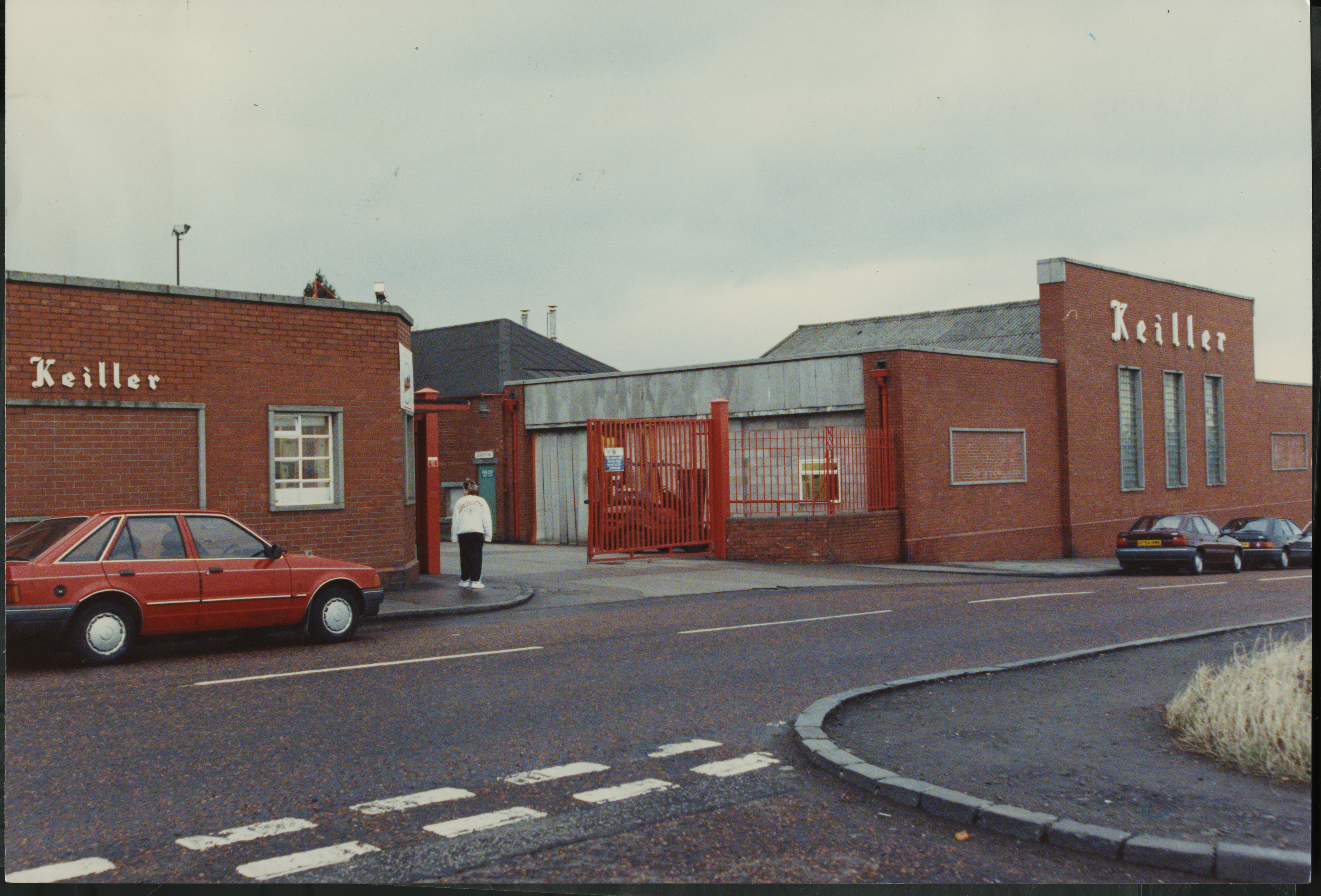 How the factory looked in 1992