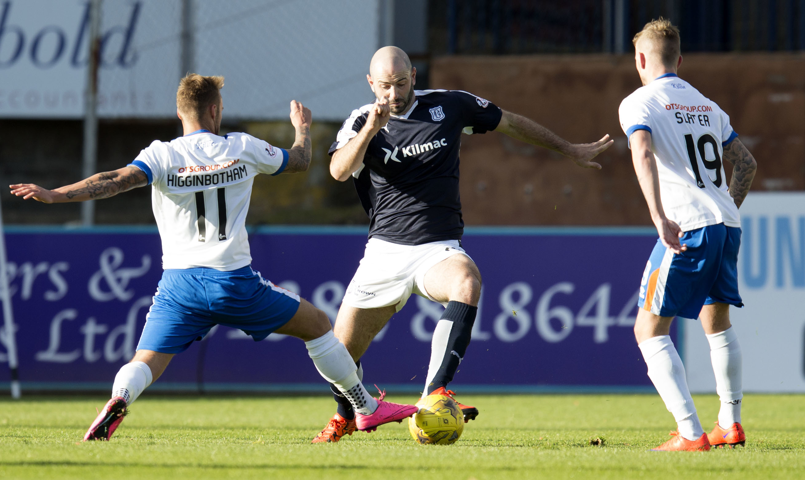 Dundee midfielder Gary Harkins is mulling over a new deal offered by the club to extend his stay at Dens until 2018.