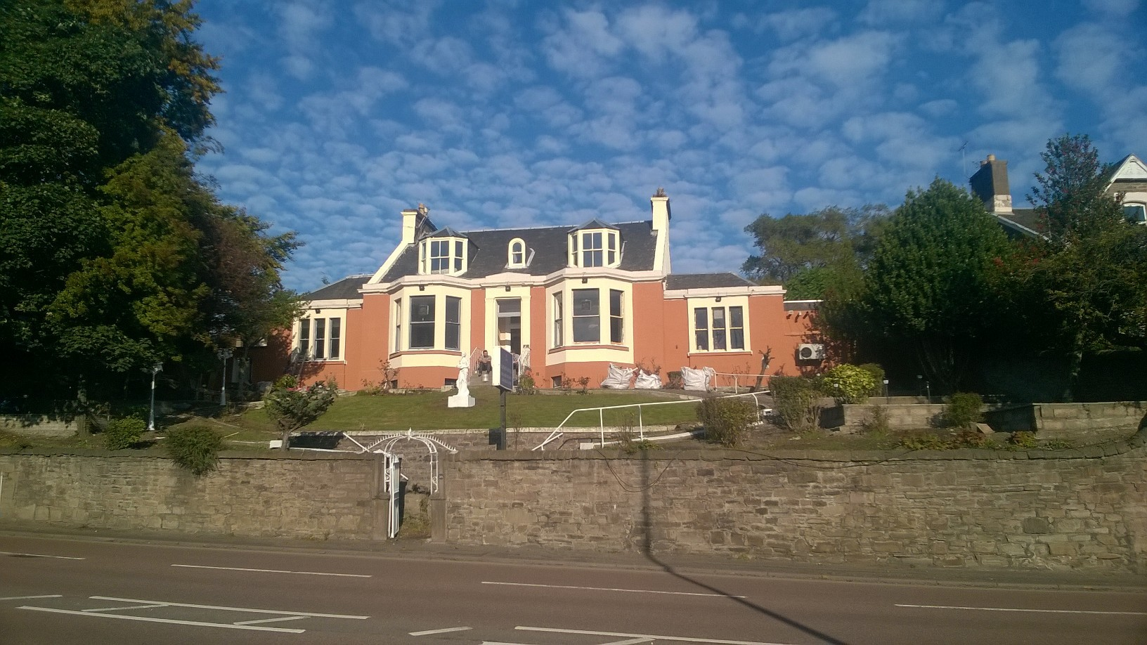 The Tayview Hotel on Broughty Ferry Road.