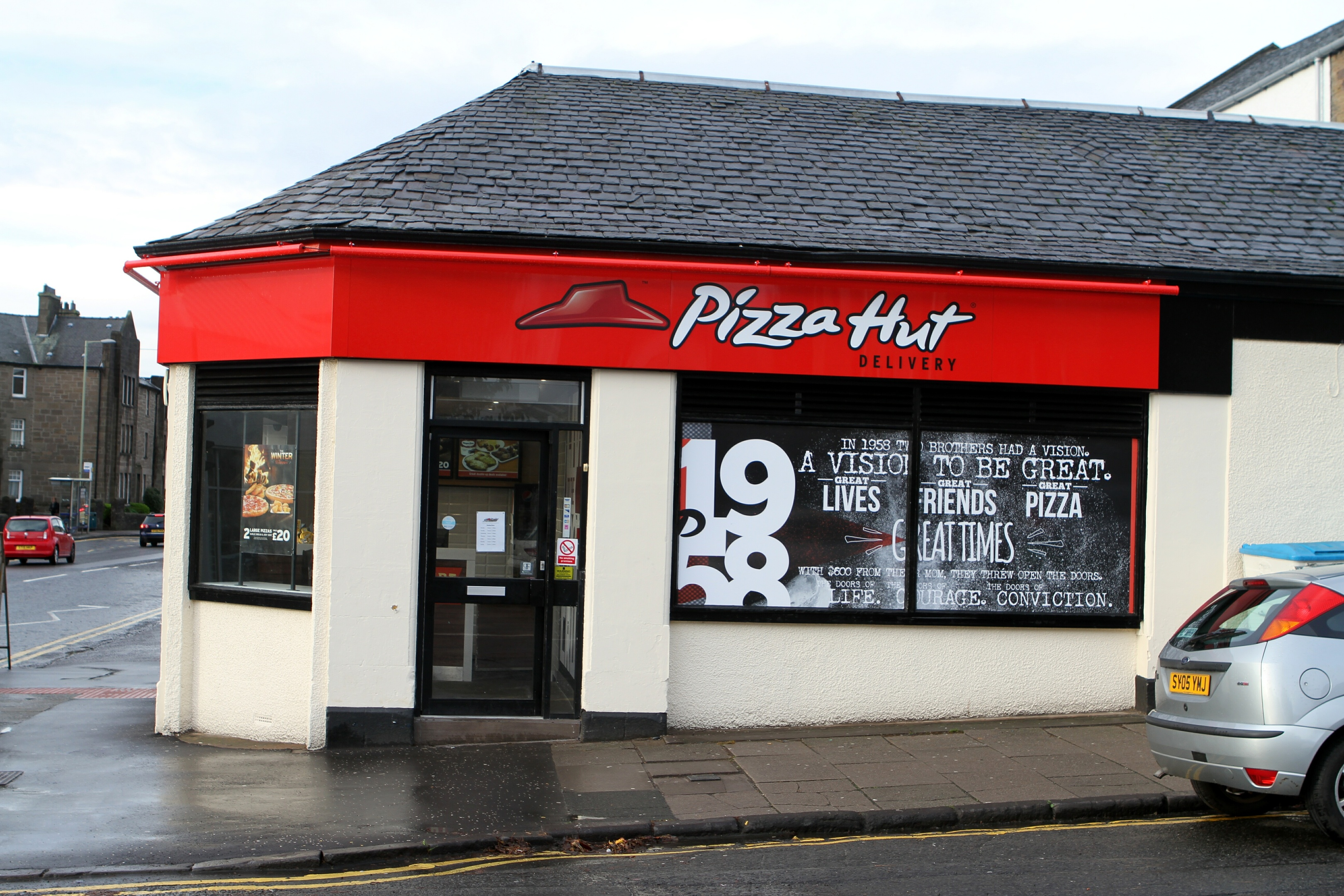 The former Pizza Hut branch on Church Street.