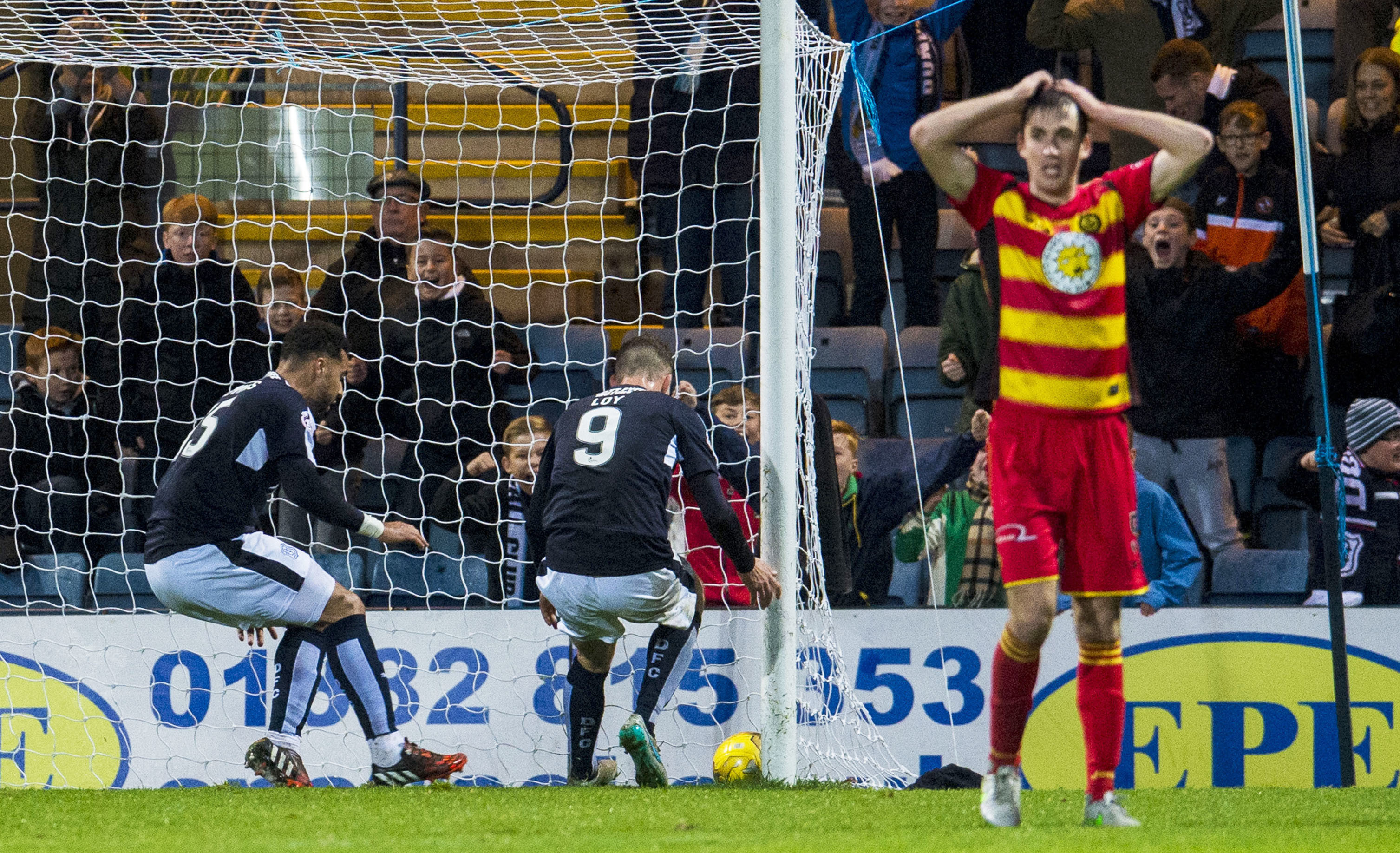 Dundee left it late to salvage a point in their last home game